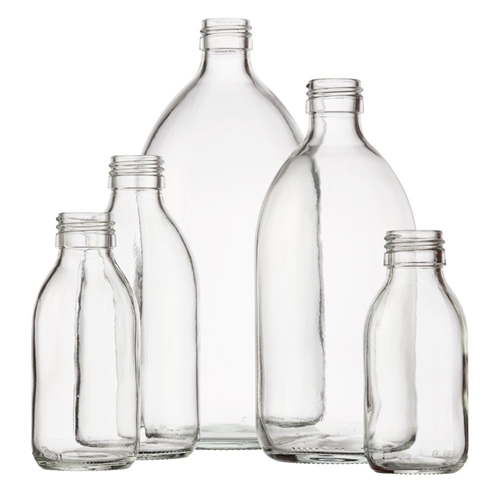 Picture for category Clear Syrup Bottles