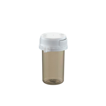 Picture of Plastic Vial 20 ml shadow with lid per 20