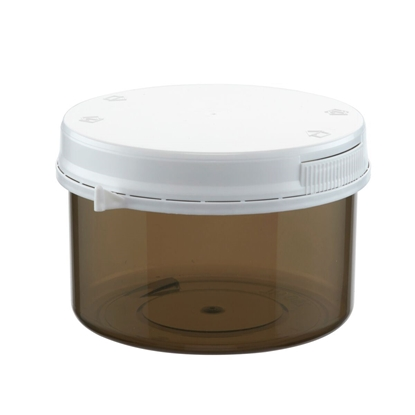 Picture of Plastic Vial 250 ml shadow with lid per 10