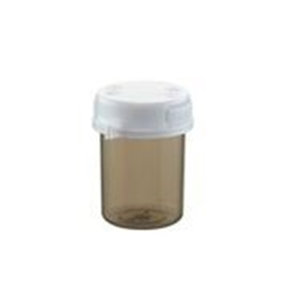 Picture of Plastic Vial 40 ml shadow with lid per 20