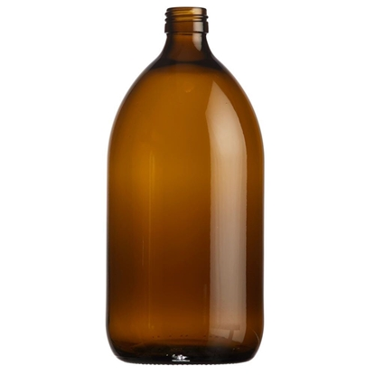 Picture of Syrup Bottle - amber glass - 1000ML  - ROPP28