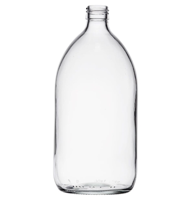 Picture of Syrup Bottle - clear glass - 1000 ML  - ROPP28