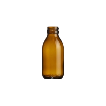 Picture of Syrup Bottle - amber glass - 125 ML  - ROPP28