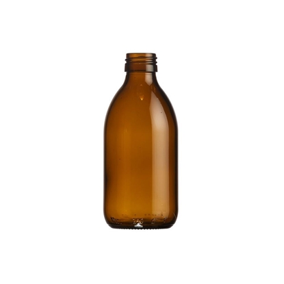 Picture of Syrup Bottle - amber glass - 250 ML  - ROPP28
