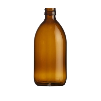 Picture of Syrup Bottle - amber glass - 500 ML  - ROPP28