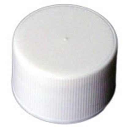 Picture of Fine Ribbed PE Lined Closure - White - 20/410