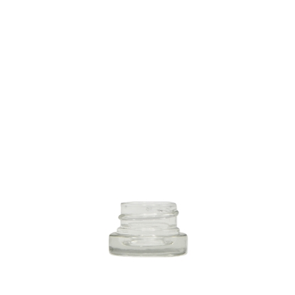 Picture of Thick wall glass concentrate jar - Child resistant - 5 ml - 28/400