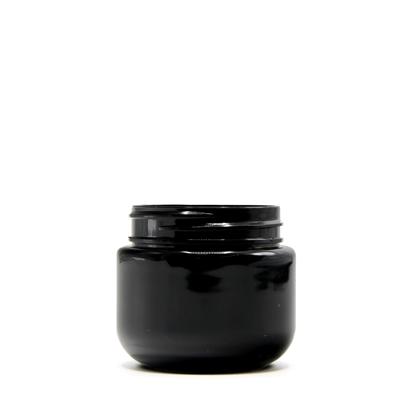Picture of Round Base PET Designer Jar - Child Resistant - Black - 30 dram - 100 ml - 53/400