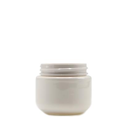 Picture of Round Base PET Designer Jar - Child Resistant - White - 30 dram - 100 ml - 53/400