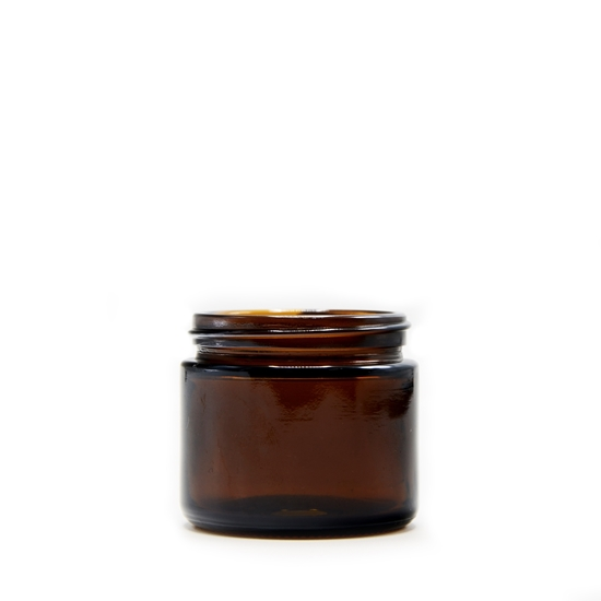 Picture of Amber straight sided jar - Child resistant - 2oz - 53/400