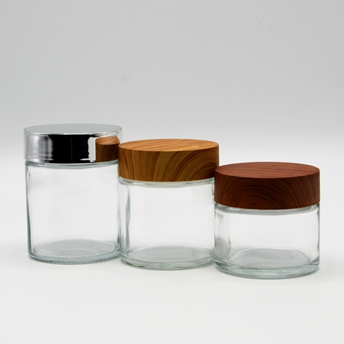 Picture for category Straight Sided Glass Jars - Child resistant