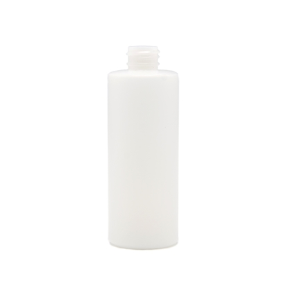 Picture of Cylinder round plastic bottle - HDPE  - Natural - 4oz - 120 ml - 20/410