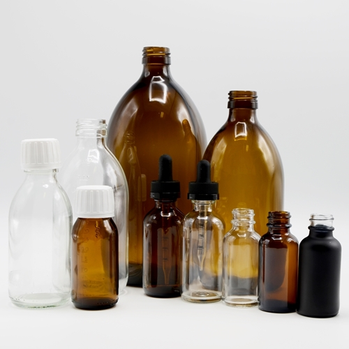 Picture for category Glass Bottles