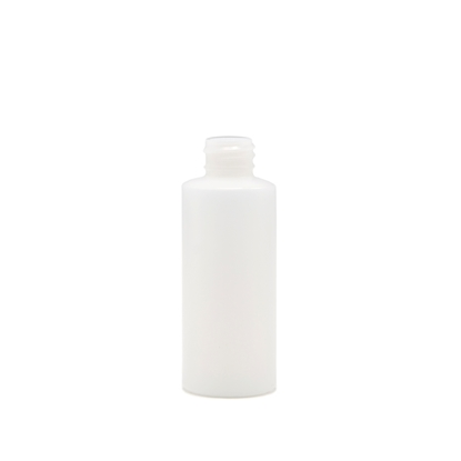 Picture of Cylinder round plastic bottle - HDPE  - Natural - 1oz - 30 ml -  20/410